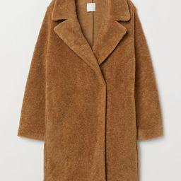 H & M - Pile Coat - Beige | H&M (US)