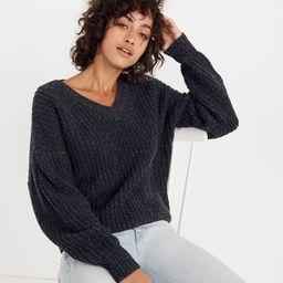 Pleat-Sleeve Pullover Sweater   Madewell