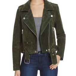 BLANKNYC Suede Moto Jacket Women | Bloomingdale's (US)