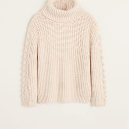 Embroidered details sweater | MANGO (US)