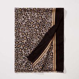 Leopard Print Scarf   LOFT   LOFT