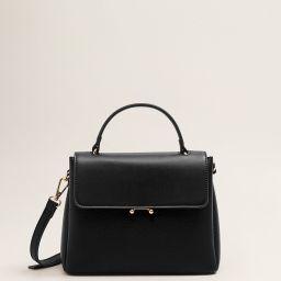 Flap cross-body bag - Women | MANGO (US)