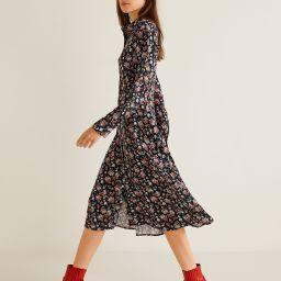 Floral print dress - Women | MANGO (US)