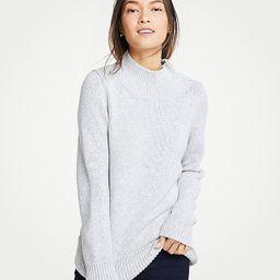 Marled Turtleneck Sweater | Ann Taylor (US)