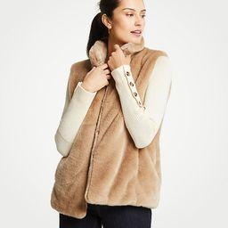 Faux Fur Vest | Ann Taylor (US)