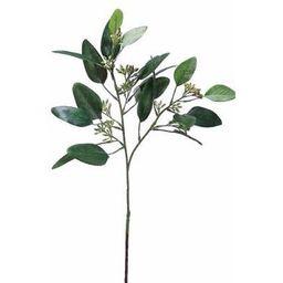 Artificial Seeded Eucalyptus Spray in Green Burgundy   Walmart (US)
