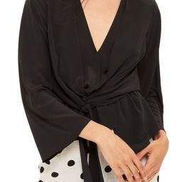 Topshop Tiffany Asymmetrical Blouse | Nordstrom