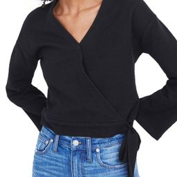 Madewell Texture & Thread Wrap Top | Nordstrom
