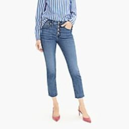 Vintage straight eco jean with button fly | J.Crew US