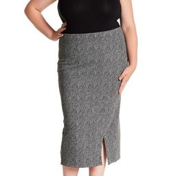 Ponte Pencil Skirt (Plus Size) | Nordstrom Rack