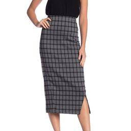 Seamed Plaid Pencil Skirt | Nordstrom Rack