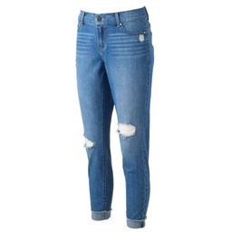 Women's Juicy Couture Flaunt It Ripped Skinny Ankle Jeans | Kohl's