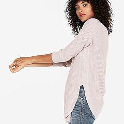 Circle Hem Tunic Sweater | Express