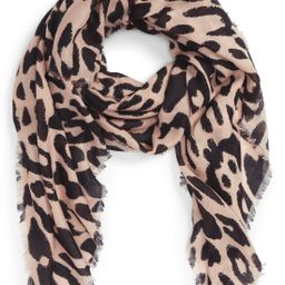 BP. Leopard Print Scarf | Nordstrom