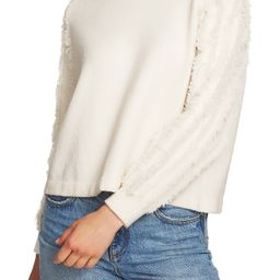 Fringe Sleeve Sweater | Nordstrom