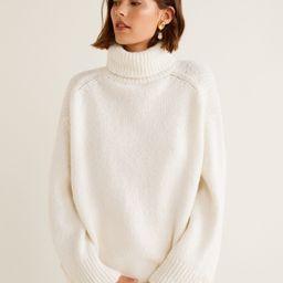 Oversize sweater | MANGO (US)
