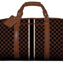 Captain's Bag - Monogram Stripe   Barrington Gifts