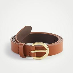 Medium Leather Trouser Belt | Ann Taylor (US)