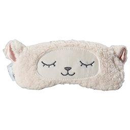 Gent House Love Lambs Wool Patch Eye Mask Cute Plush Sheep Sleeping Eye Cover Blinder | Amazon (US)