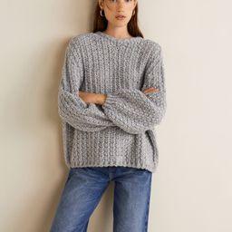 Open-knit sweater | MANGO (US)
