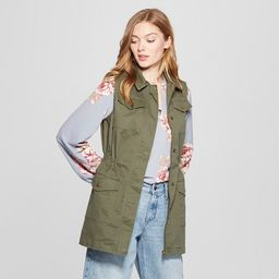 Women's Military Vest - A New Day™ | Target