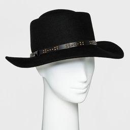 Women's Boater Hat - Universal Thread™ Black | Target