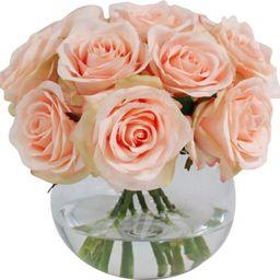 https://www.wayfair.com/decor-pillows/hd0/faux-rose-floral-arrangement-in-vase-l3712-k~wrlo1118.html   Wayfair North America