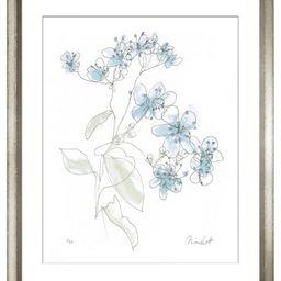 Minnie Carter, Flowers Blue I   One Kings Lane