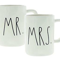 Rae Dunn Mr. & Mrs. Set of (2) Mugs By Magenta | Amazon (US)