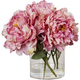 https://www.allmodern.com/decor-pillows/hd0/scollfyld-pink-peony-in-acrylic-water-glass-vase-l3712-k | Wayfair North America