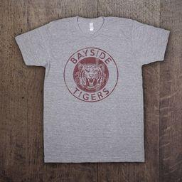 BAYSIDE TIGERS - Mens/Unisex American Apparel Tri-Blend T-Shirt - vintage slater zack morris califor   Etsy (US)