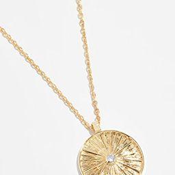 Sol Coin Pendant Necklace | Shopbop