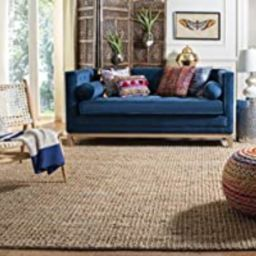 Safavieh Natural Fiber Collection NF447A Hand Woven Natural Jute Area Rug (9' x 12') | Amazon (US)