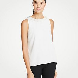 Pearlized Neck Shell   Ann Taylor (US)