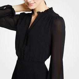 Pleated Flare Dress   Ann Taylor (US)