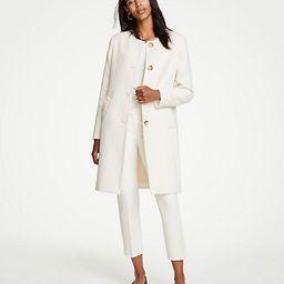 Jewel Neck Coat | Ann Taylor (US)