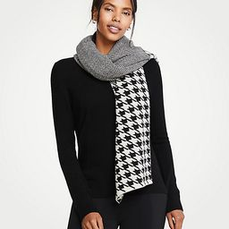 Mixed Pattern Blanket Scarf | Ann Taylor (US)