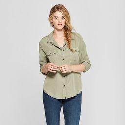 Women's Long Sleeve Soft Twill Shirt - Universal Thread™ | Target