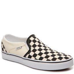 Asher Checkered Slip-On Sneaker - Women's | DSW