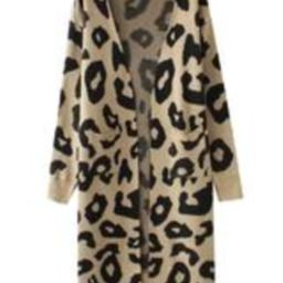 'Reilly' Leopard Print Open Cardigan (4 Colors)   Goodnight Macaroon