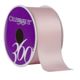 """1.5"""" Satin Wired Double-Faced Ribbon by Celebrate It® 360°™   Michaels Stores"""