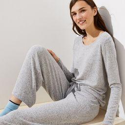 Cozy Knit Pajama Set | LOFT | LOFT