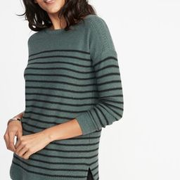 Classic Boat-Neck Sweater for Women   Old Navy US