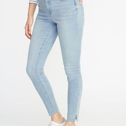 High-Rise Built-In Warm Raw-Edge Rockstar Jeans for Women | Old Navy US