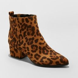 Women's Valerie Microsude City Ankle Fashion Boots - A New Day™ | Target
