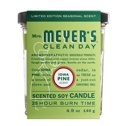 Mrs. Meyer's Iowa Pine Scented Soy Candle - 4.9oz   Target
