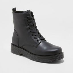 Women's Dayton Combat Boots - Wild Fable™ Black | Target