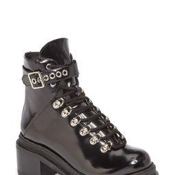 Jeffrey Campbell Czech Lace-Up Boot (Women) | Nordstrom