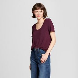 Women's Any Day Short Sleeve Scoop T-Shirt - A New Day™ | Target