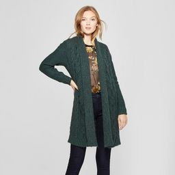 Women's Cable Open Cardigan - A New Day™ | Target